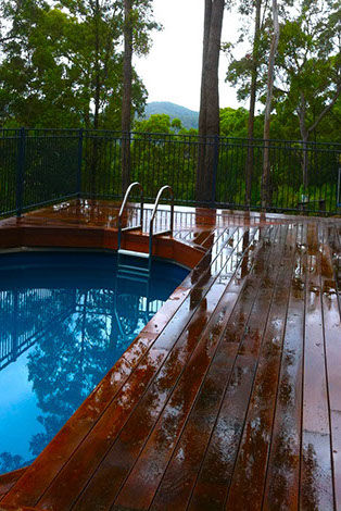 Gold Coast Double Black Diamond Carpentry & Construction Bonogin Deck